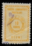 Stamps of the world : Turkey :  TURQUIA_SCOTT O91.04 $0.2