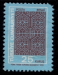 Stamps of the world : Turkey :  TURQUIA_SCOTT O133 $0.2