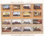Stamps : Asia : United_Arab_Emirates :  LOCOMOTORAS