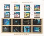 Sellos de Asia - Emiratos Árabes Unidos -  HISTORIA DE LA AERONAUTICA
