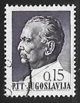 Stamps Yugoslavia -  Josip Broz Tito (1892-1980)