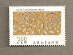 Sellos de Oceania - Nueva Zelanda -  Maories