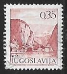 Stamps Yugoslavia -  Omis