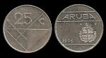monedas del Mundo : Europa : Holanda :  ARUBA 25 Cents 1996 km3