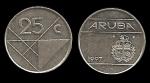 monedas del Mundo : Europa : Holanda :  ARUBA 25 Cents 1997 km3