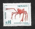Stamps Monaco -  537 A - Macrocheira kampferi