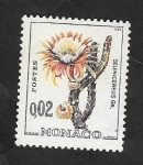 Stamps Monaco -  537 B - Planta exotica, Selenicereux sp.