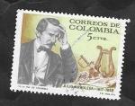 Sellos de America - Colombia -  614 - Julio Arboleda