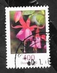 Sellos de Europa - Alemania -  2996 - Flor fuchsie