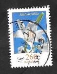 sello : Europa : Alemania : 3012 - Flor Madonnenlilie