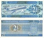 monedas del Mundo : America : Antillas_Neerlandesas :  Netherlands Antilles 2½ Gulden Sep 8,1970 P-21a