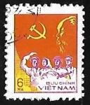 Sellos de Asia - Vietnam -  Trabajador, campesino,soldado e intelectual