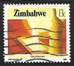 Sellos del Mundo : Africa : Zimbabwe : Produccion de oro