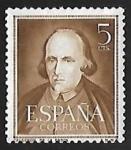Stamps Spain -  Pedro Calderon de la Barca