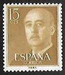 Sellos de Europa - España -  Franco, General