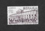 Stamps Spain -  Forjadores de América