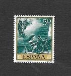 Stamps : Europe : Spain :  Edf 1855 - Pintura
