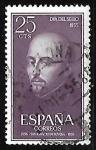 Stamps Spain -  Dia del sello - San Ignacio de Loyola