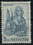 sellos de Europa - Suiza -  SUIZA_SCOTT 407.02 $0.2