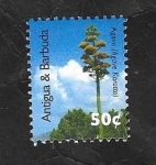 Stamps : America : Antigua_and_Barbuda :  Arbol