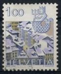 Stamps Switzerland -  SUIZA_SCOTT 717.01 $0.3