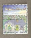 Sellos del Mundo : Oceania : Nueva_Zelanda : Navidad 1992