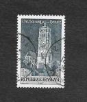 Stamps France -  1190 - Monumentos y Sitios