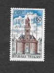 Stamps France -  Monumentos y Sitios
