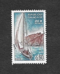 Stamps France -  1127 - Serie Turística