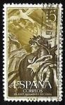 Stamps : Europe : Spain :  XX aniversario del levantamiento nacional