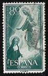 Stamps Spain -  Centenario de la fiesta del Sagrado Corazon de Jesus