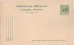 Sellos del Mundo : America : México : MICHOACÁN DANZA DE LOS MOROS TARJETA POSTAL  SERIE ARQUITECTURA Y ARQUEOLOGÍA 50-75
