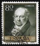 Sellos de Europa - España -  Francisco Goya -