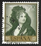 Stamps : Europe : Spain :  Francisco Goya