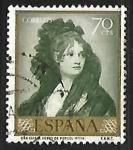 Stamps Spain -  Francisco Goya