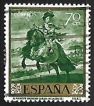 Stamps Spain -  Diego Velazques