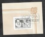 Stamps Argentina -  489 - IV Centº del nacimiento de Cervantes, Día de Emisión