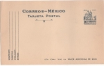 Sellos del Mundo : America : México : CATEDRAL DE PUEBLA COLOR AZUL CLARO- TARJETA POSTAL  SERIE ARQUEOLOGÍA Y ARQUITECTURA 50-75