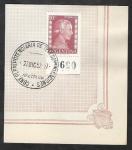 Sellos de America - Argentina -   519 - María Eva Duarte de Perón, Evita Perón, Conf.plenipotenciaria de telecomunicaciones
