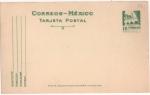 Sellos del Mundo : America : México : MORELOS ARQUITECTURA COLONIAL TARJETA POSTAL SERIE ARQUEOLOGÍA Y ARQUITECTURA 50-75