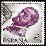 Stamps : Europe : Spain :  IV centenario de la muerte de Carlos I de España y V de Alemania
