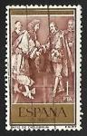 Stamps : Europe : Spain :  III Cent. del tratado de los Pirineos