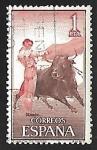 Stamps Spain -  Fiesta nacional de Tauromaquia - Pase por alto