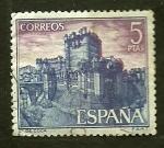 Stamps Spain -  Catillo de Cocas