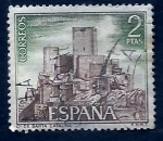 Stamps of the world : Spain :  Castillo santa Catalina