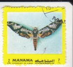 Stamps of the world : Bahrain :  MARIPOSA