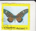 Stamps Bahrain -  MARIPOSA