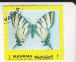 Stamps : Asia : Bahrain :  MARIPOSA