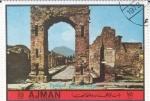 Stamps United Arab Emirates -  RUINAS DE POMPEIA