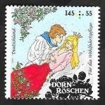 Sellos de Europa - Alemania -  2943 - La Bella Durmiente del bosque